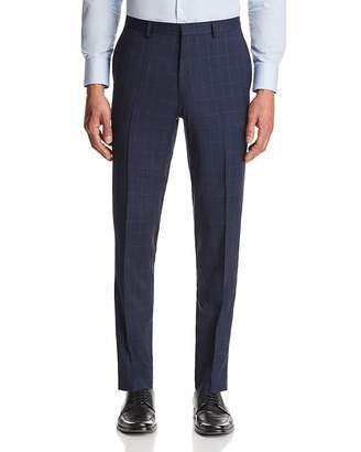 HUGO Hets Slim Fit Tonal Plaid with Windowpane Suit Pants