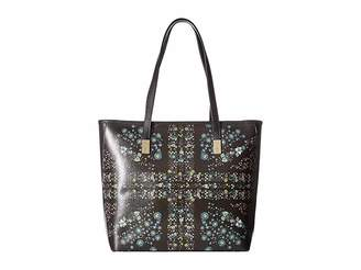 Ted Baker Unity Floral Leather Shopper