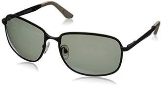 Hang Ten Gold HT HTG1013 C3 Polarized Rectangular Sunglasses