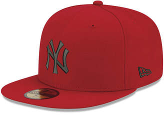 New Era New York Yankees Reverse C-Dub 59FIFTY Fitted Cap