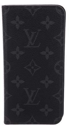 Louis Vuitton 2018 Monogram Eclipse iPhone 8+ Folio