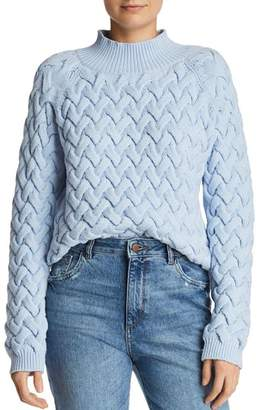 The East Order Adele Cable-Knit Sweater