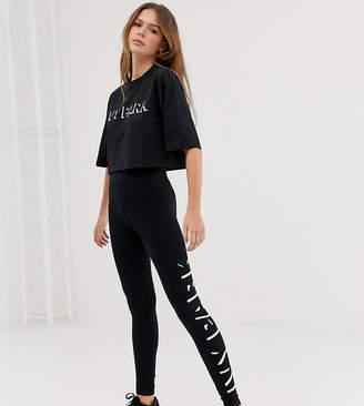 Ivy Park logo leggings in black