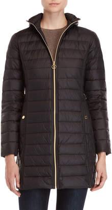 MICHAEL Michael Kors Packable Removable Hood Down Coat