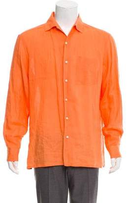 Ralph Lauren Woven Button-Up Shirt