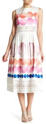 Ted Baker Serinah Lace Paneled Midi Dress