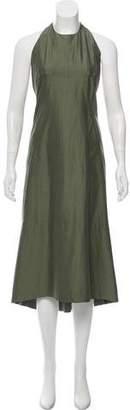 Rick Owens Midi Halter Dress