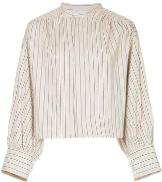 ASTRAET striped fitted shirt