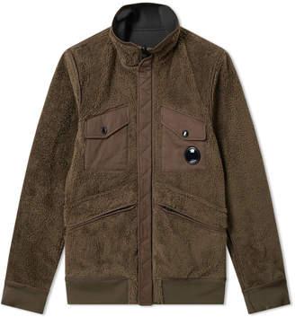 C.P. Company Reversible Fleece Soft Shell Jacket