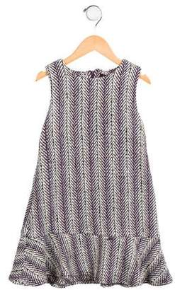 Imoga Girls' Penelope Herringbone Dress