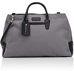 Anthony Logistics For Men T. Men's Canvas & Leather Weekender Bag - Gray