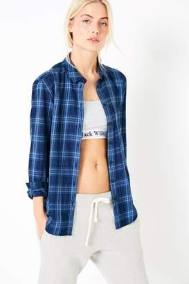 Jack Wills Breighton Plaid Boyfriend Shirt