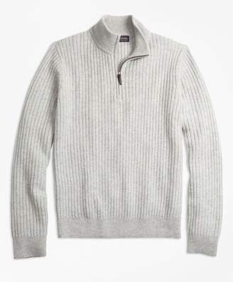 Brooks Brothers Ribbed Half-Zip