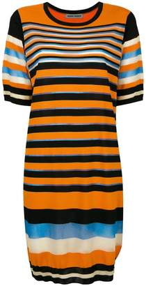 Henrik Vibskov multi-stripe T-shirt dress