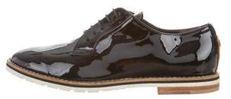 AGL Patent Leather Round-Toe Oxfords