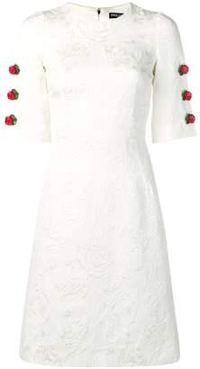 Dolce & Gabbana button detail dress