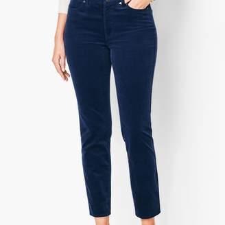 Talbots Slim Ankle Pants - Cords - Curvy Fit