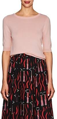 Barneys New York Women's Tie-Back Fine-Gauge Knit Sweater