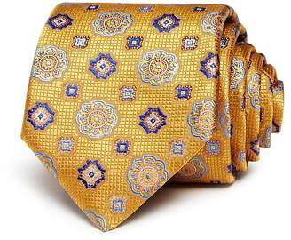 Canali Floret Medallion Silk Classic Tie