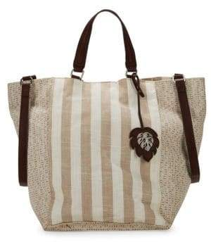 Tommy Bahama Reef Stripe Convertible Tote
