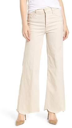 Mother The Tomcat Chew Ripped High Waist Flare Jeans (Unnatural Acts)