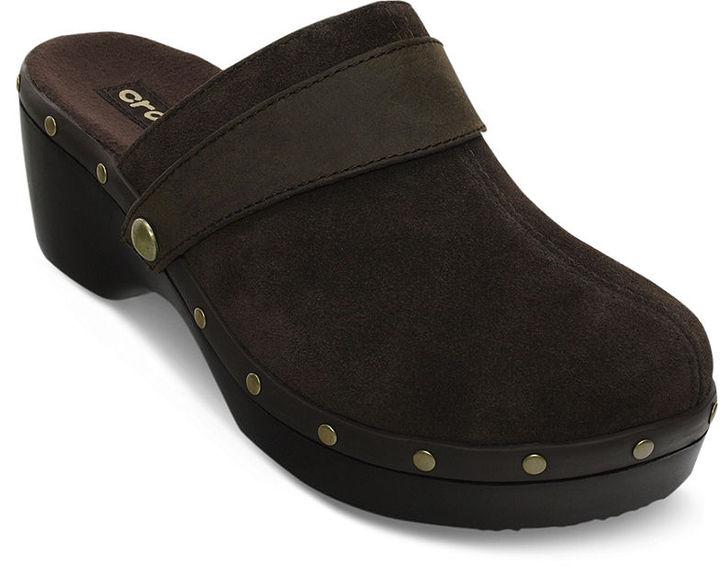 Crocs Women's Shoes, Cobbler Studded Clogs