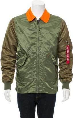 Alpha Industries Lightweight Zip-Up Jacket