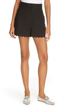 Rebecca Taylor Scallop Shorts