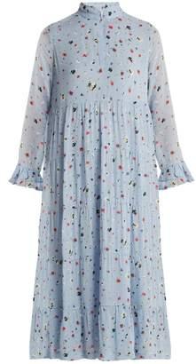 Ganni Dainty georgette dress