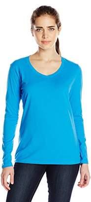 Champion Women's Jersey Long-Sleeve Tee Shirt
