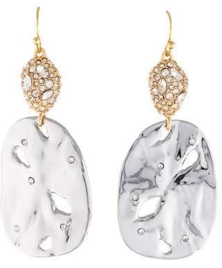 Alexis Bittar Crystal Pavé Pod Wire Earrings