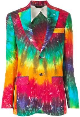 R 13 tie-dye blazer