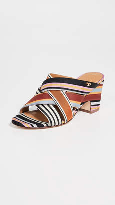 114ba4bd677e Tory Burch Wedge Heel Sandals For Women - ShopStyle Australia