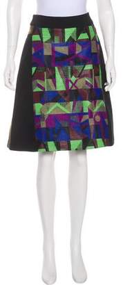 Creatures of the Wind Patterned A-Line Skirt
