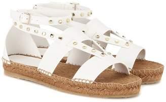 Jimmy Choo Denise leather espadrille sandals