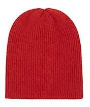 The Elder Statesman Men's Watchman Cashmere Cap-Red
