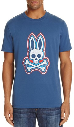 Psycho Bunny Signature Skull Graphic Tee $45 thestylecure.com