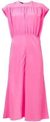Rochas cap sleeve midi dress
