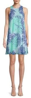 Calvin Klein Botanical-Print Mini Dress