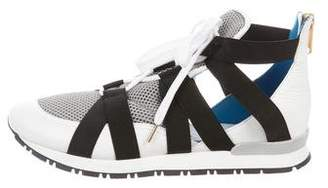 Vionnet Leather Low-Top Sneakers