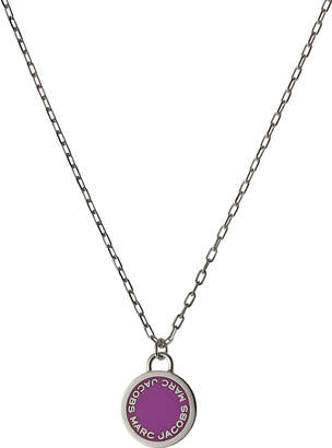 Marc Jacobs Logo Disc Necklace