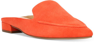Franco Sarto Sela Pointed Toe Slip-On Loafer Mules Women's Shoes $79 thestylecure.com