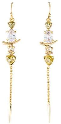 Alexis Bittar Miss Havisham Crystal Spear Drop Earrings