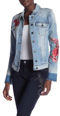 KUT from the Kloth Lily Embroidered Denim Jacket