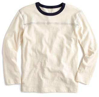J.Crew crewcuts by Long Sleeve Ringer T-Shirt