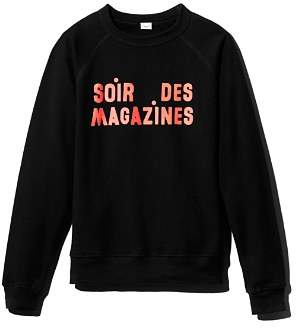 Clare Vivier Soir Des Magazines Sweatshirt