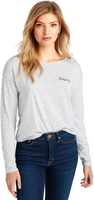 Vineyard Vines Long-Sleeve EDSFTG Embroidered Stripe Tee