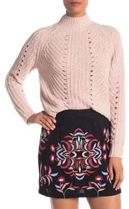 Vero Moda Mock Neck Knit Sweater