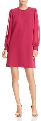 Nanette Lepore nanette Chiffon-Sleeve Knit Dress
