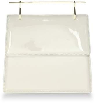 M2Malletier La Collectionneuse Patent Leather Satchel Bag